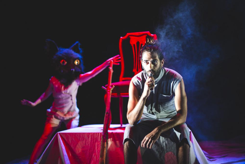 Fotografía de teatro. Animal Sagrado. - 2021