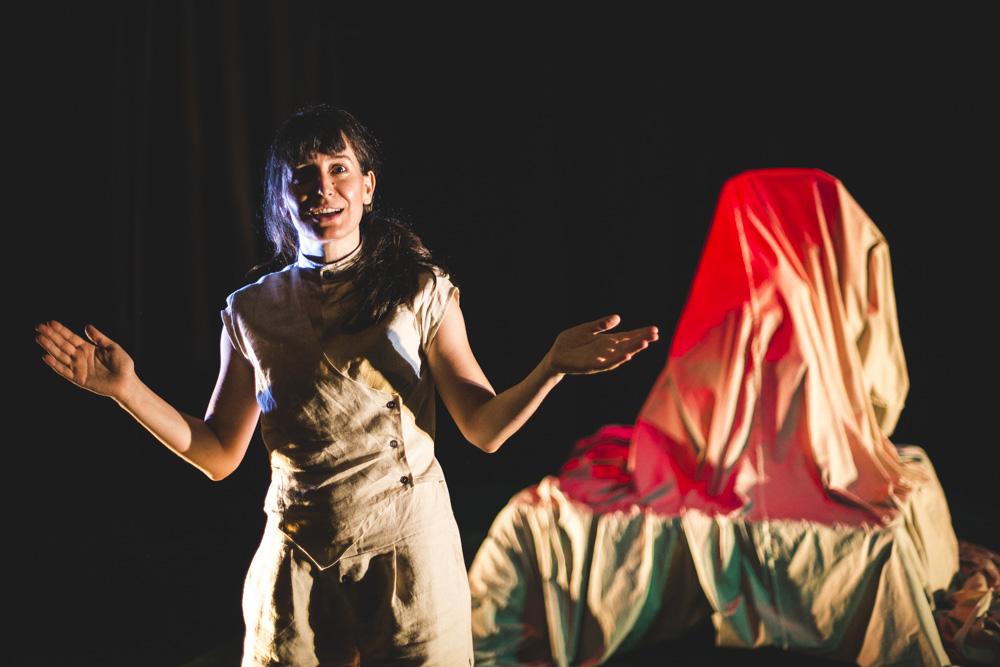 Fotografía de teatro: Animal Sagrado - 2021