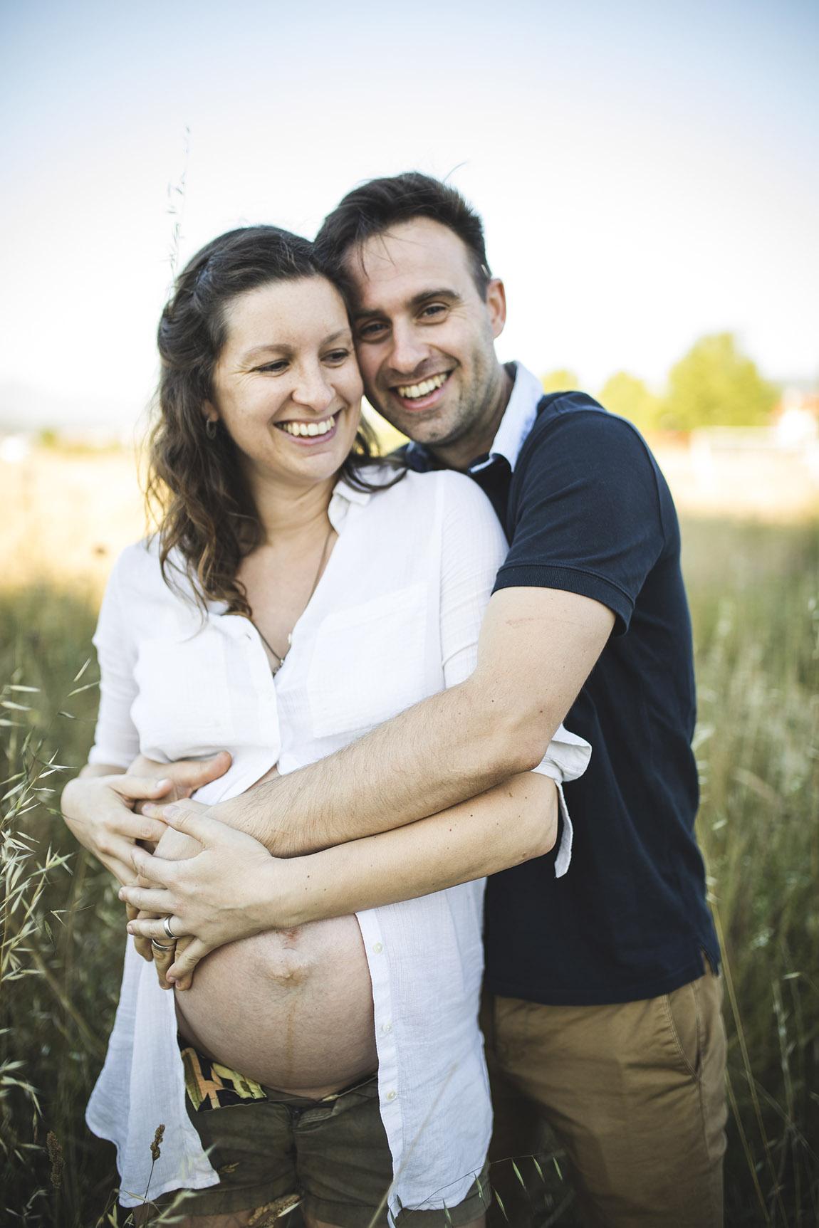 fotografía de embarazo y bebé