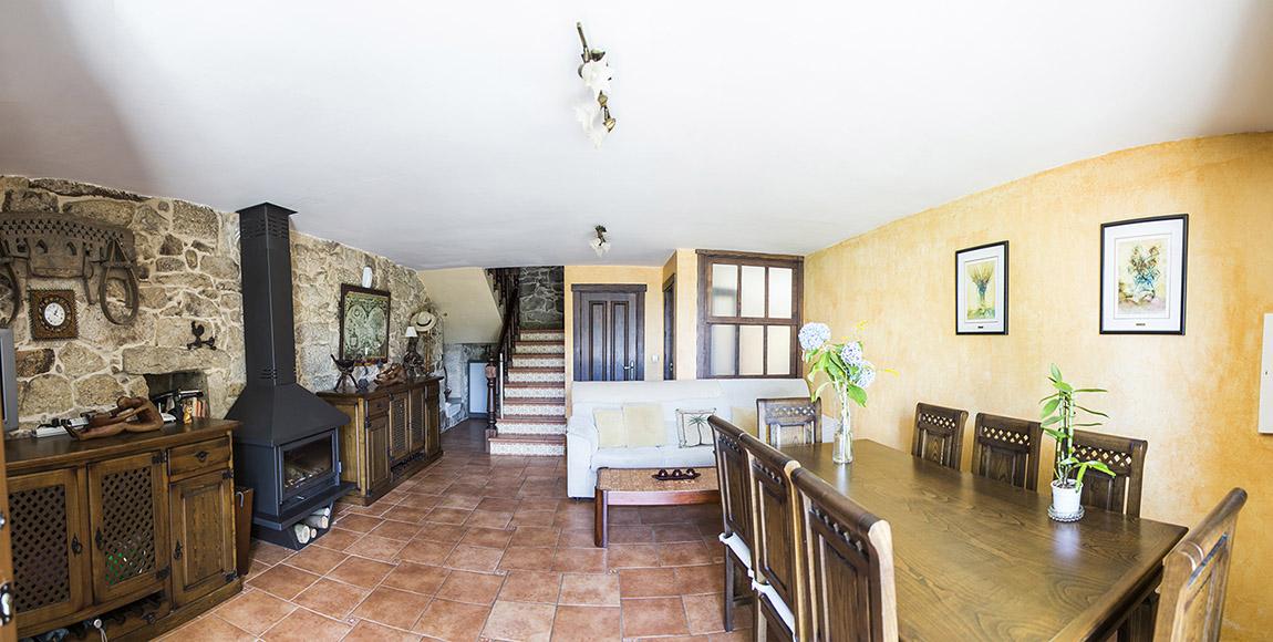 Fotografía inmobiliaria de una casa rústica - 2021
