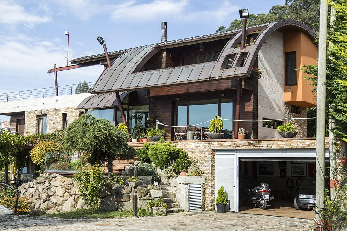 Fotografía inmobiliaria de chalet en Vigo - 2021