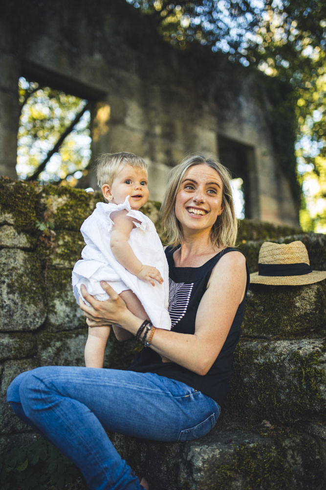 Sesión con bebé al aire libre - 2021